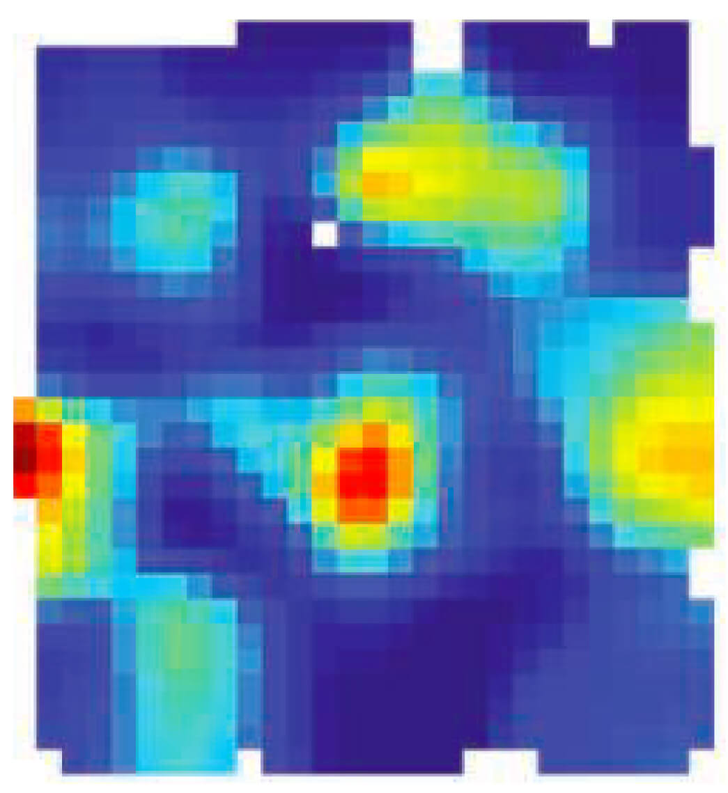 Entorhinal cortex grid cell recorded from a behaving bat. In his 2011 Nature paper, Yartsev showed that the ability of grid cells to provide spatial information by discharging only at certain predictable locations in space did not depend on theta oscillations. Click image to go to paper.