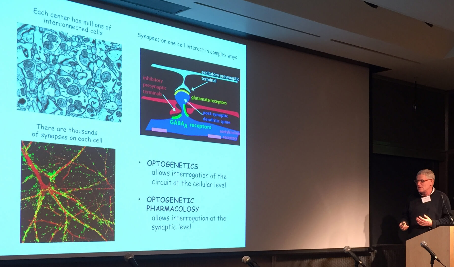 Richard Kramer talking about light-activated antagonists (optogenetic pharmacology) at BayBRAIN Industry Day, November 2015.