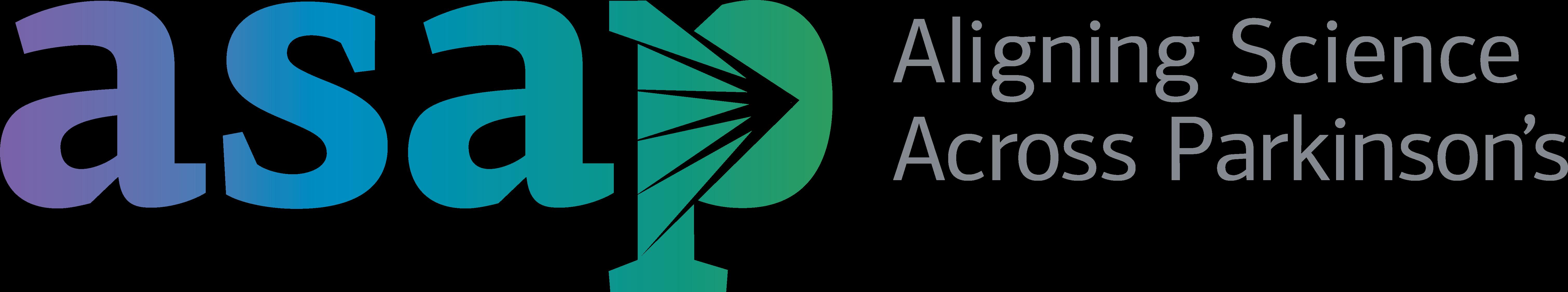 Aligning Science across parkinson's logo